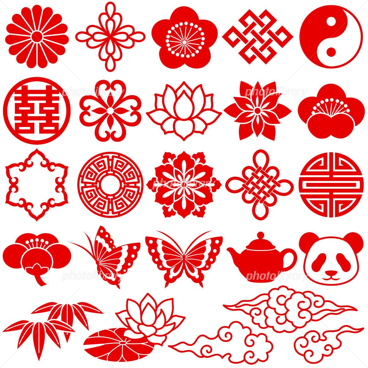 Easy Chinese Patterns To Draw 中国 アイコン �...