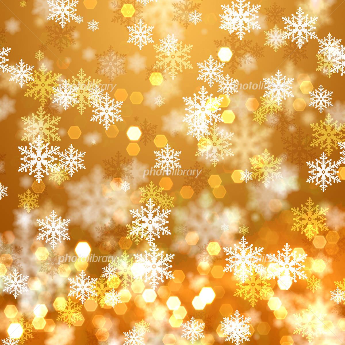 雪の結晶の背景素材のイラスト素材