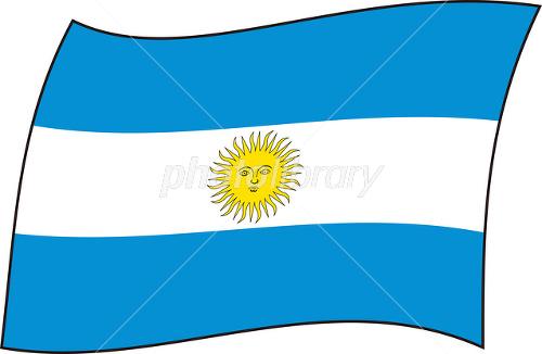 アルゼンチン国旗-写真素材 アルゼンチン国旗 画像ID 1452992  アルゼンチン国旗