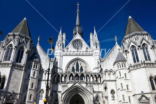 ロンドン 王立裁判所の写真素材
