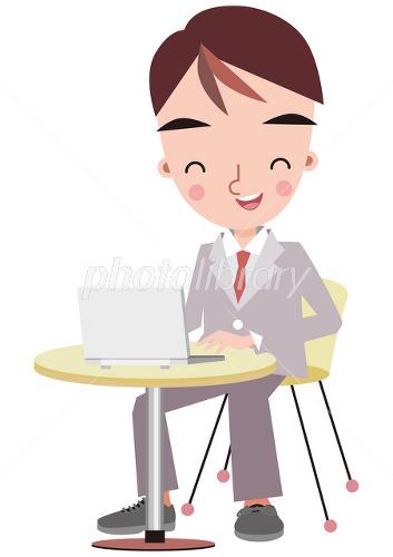 笑顔で仕事をする男性-写真素材 笑顔で仕事をする男性 画像ID 1678939  笑顔で仕事をす