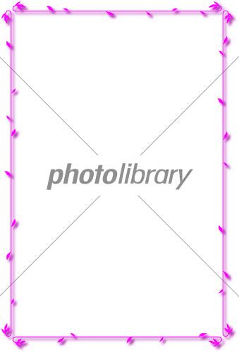飾り枠ピンク-写真素材 飾り枠ピンク 画像ID 1979243  飾り枠ピンク