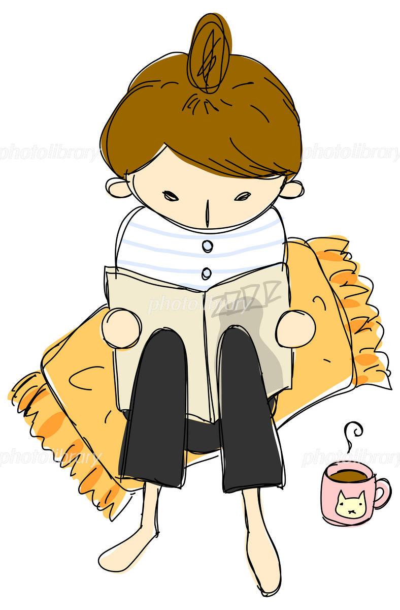 雑誌を読む女子-写真素材 雑誌を読む女子 画像ID 460833  雑誌を読む女子