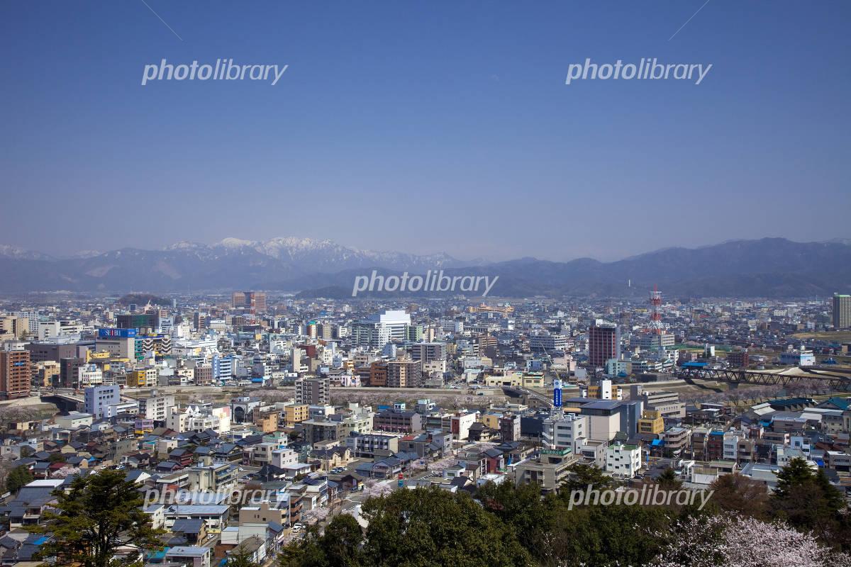 福井市の街並み 写真素材 [ 1335009 ] - フォトライブラリー photolibrary