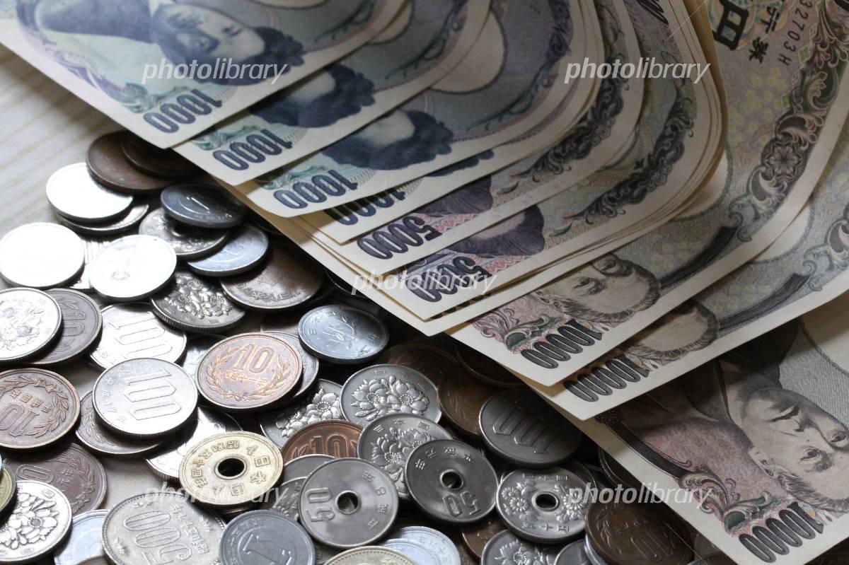 日本のお金-stock photo  日本のお金 画像ID 1419316   写真素材 フォト