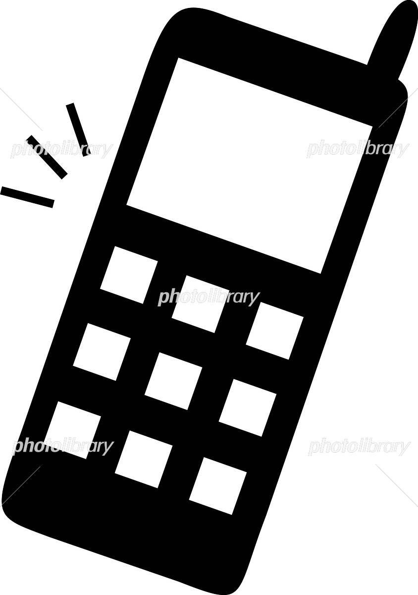 携帯電話 イラスト イラスト素材 697410 無料 フォトライブラリー
