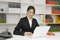 View PC Office Lady Stock photo [693922] OL