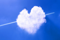 Heart of clouds Stock photo [695260] Cloud