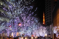 Roppongi Keyakizaka illumination of Stock photo [697795] Tokyo