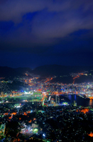 Nagasaki night view Stock photo [698825] Nagasaki