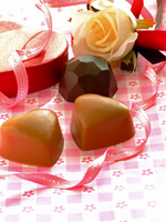 The gift thing of chocolate Stock photo [700203] Hart