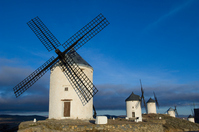 La Mancha of windmill Stock photo [700884] Spain