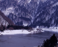 Winter of Mogami Stock photo [701792] Mogami