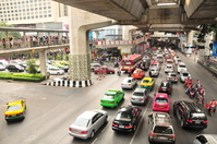 Traffic congestion of Thailand in Bangkok city Stock photo [702333] Thailand