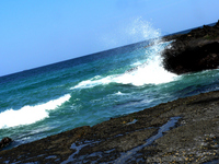 Sea spray Stock photo [702434] Sea