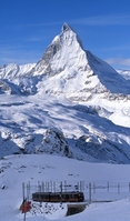 Matterhorn Stock photo [702854] Winter