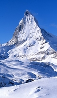 Matterhorn Stock photo [702859] Winter