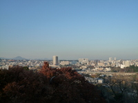View of Sendai city from Aobayama park Stock photo [703026] Miyagi