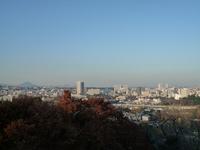 View of Sendai city from Aobayama park Stock photo [703026] Miyagi