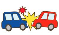 交通事故の写真素材