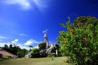Observatory and hibiscus Taketomi Stock photo [780213] Taketomi