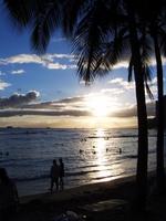Hawaiian sunset Stock photo [784559] Hawaii