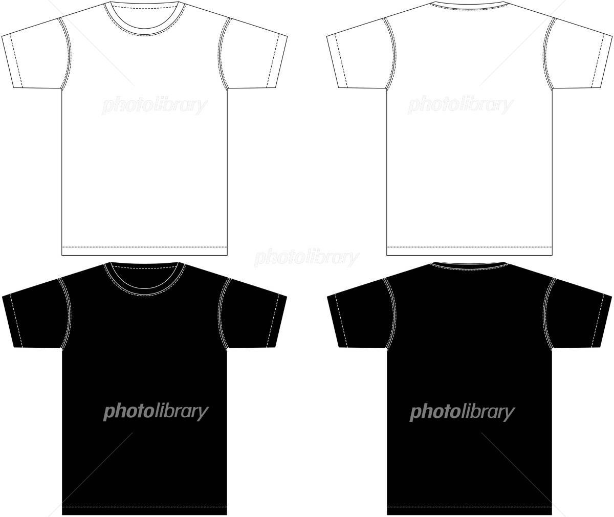 Tシャツ モック イラスト素材 869792 フォトライブラリー Photolibrary