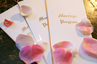 Marriage program Stock photo [859411] Wedding