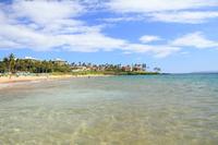 Wailea Beach blue sea Stock photo [861823] Hawaii