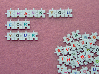 Thank you message Stock photo [862001] Thank