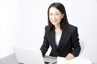 Office lady Stock photo [867027] Business