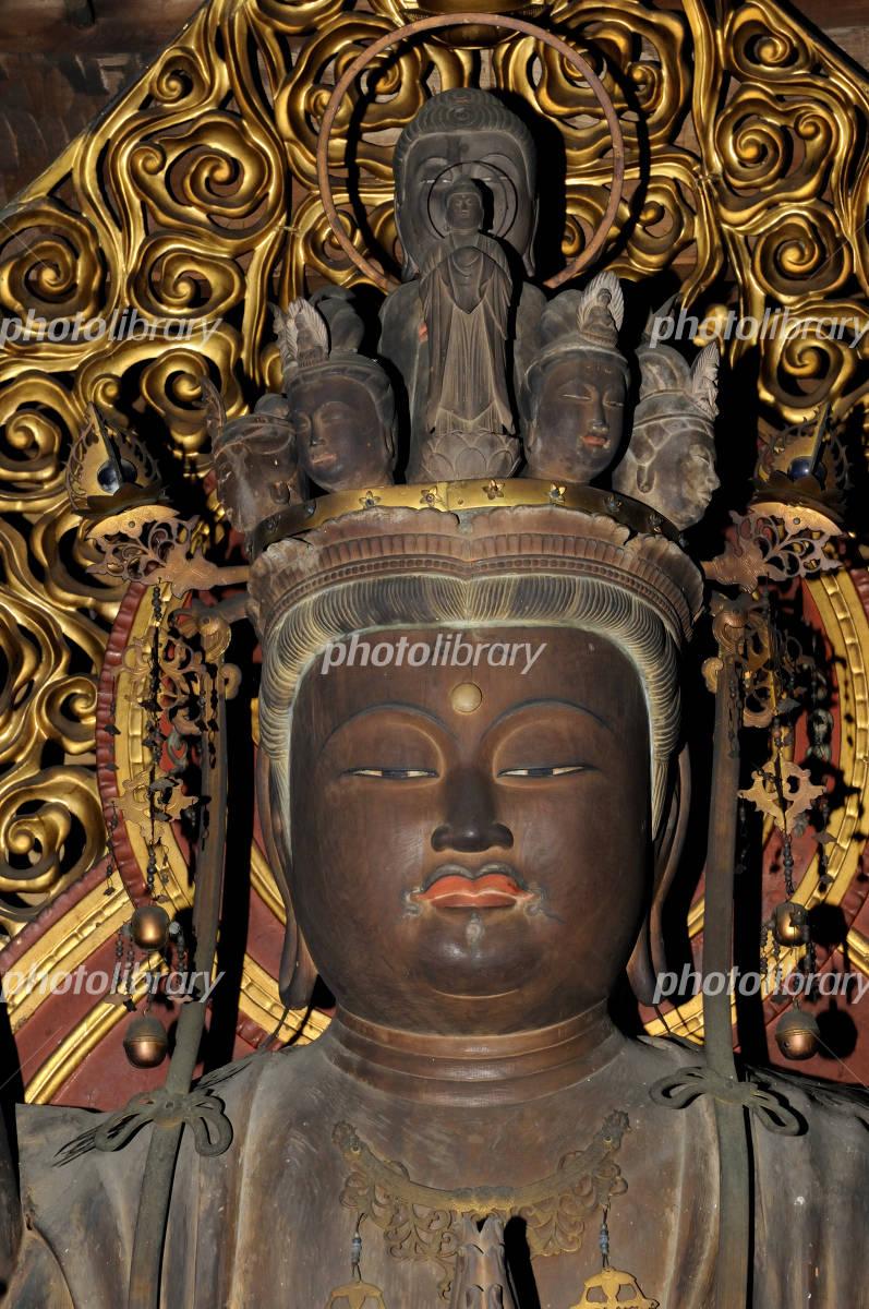 千手観音 仏頭 写真素材 939755 フォトライブラリー Photolibrary