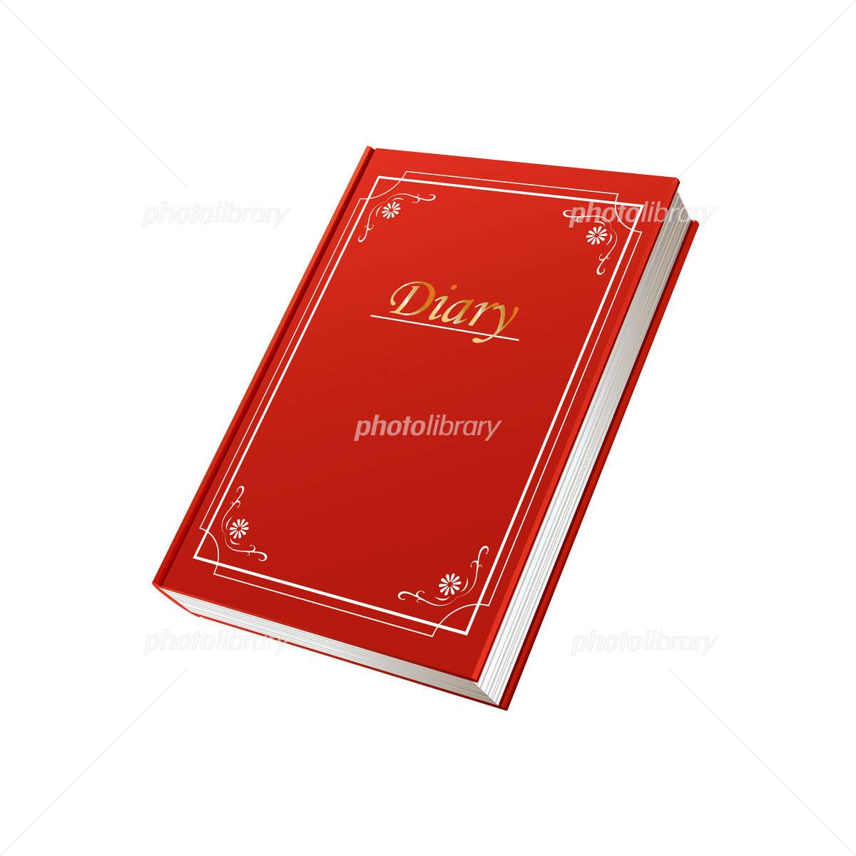赤い日記帳のイラスト イラスト素材 944617 フォトライブラリー