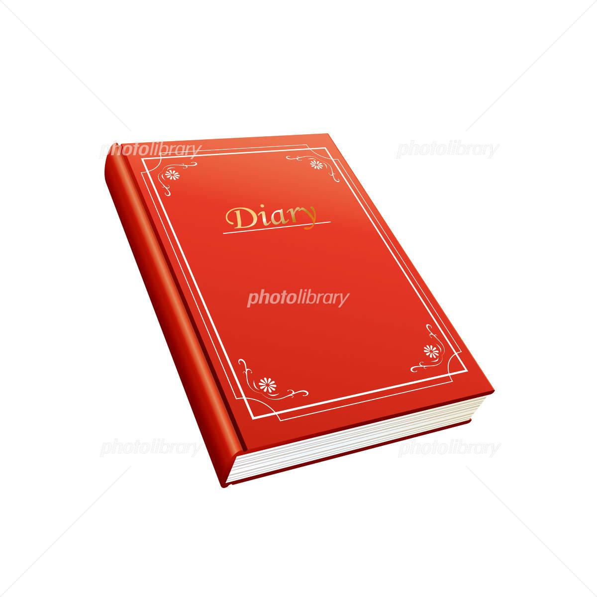赤い日記帳のイラスト イラスト素材 944621 フォトライブラリー