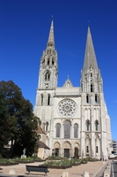 Chartres of Notre Dame Cathedral Stock photo [934043] World