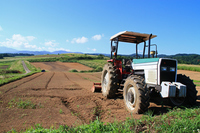 Plateau of tractor Stock photo [942172] Yamagata