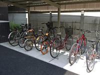 Bicycle parking lot Stock photo [943009] Bike