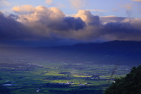 Minami Aso morning, summer Stock photo [944164] Aso