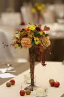 Autumn table Flower Stock photo [944318] Wedding