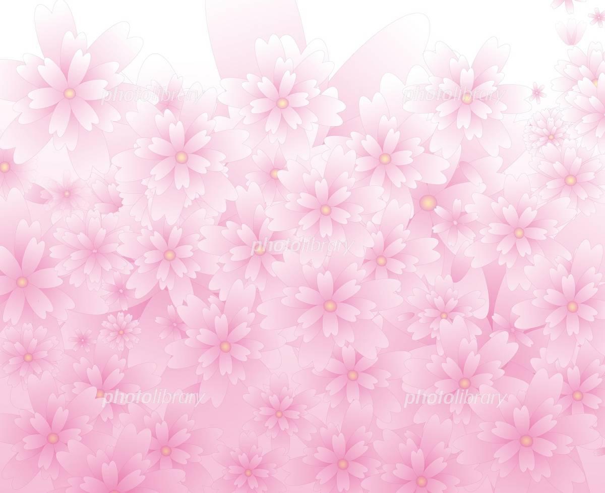 はなびら テクスチャ 素材 壁紙 ピンク さわやか 春 イラスト素材