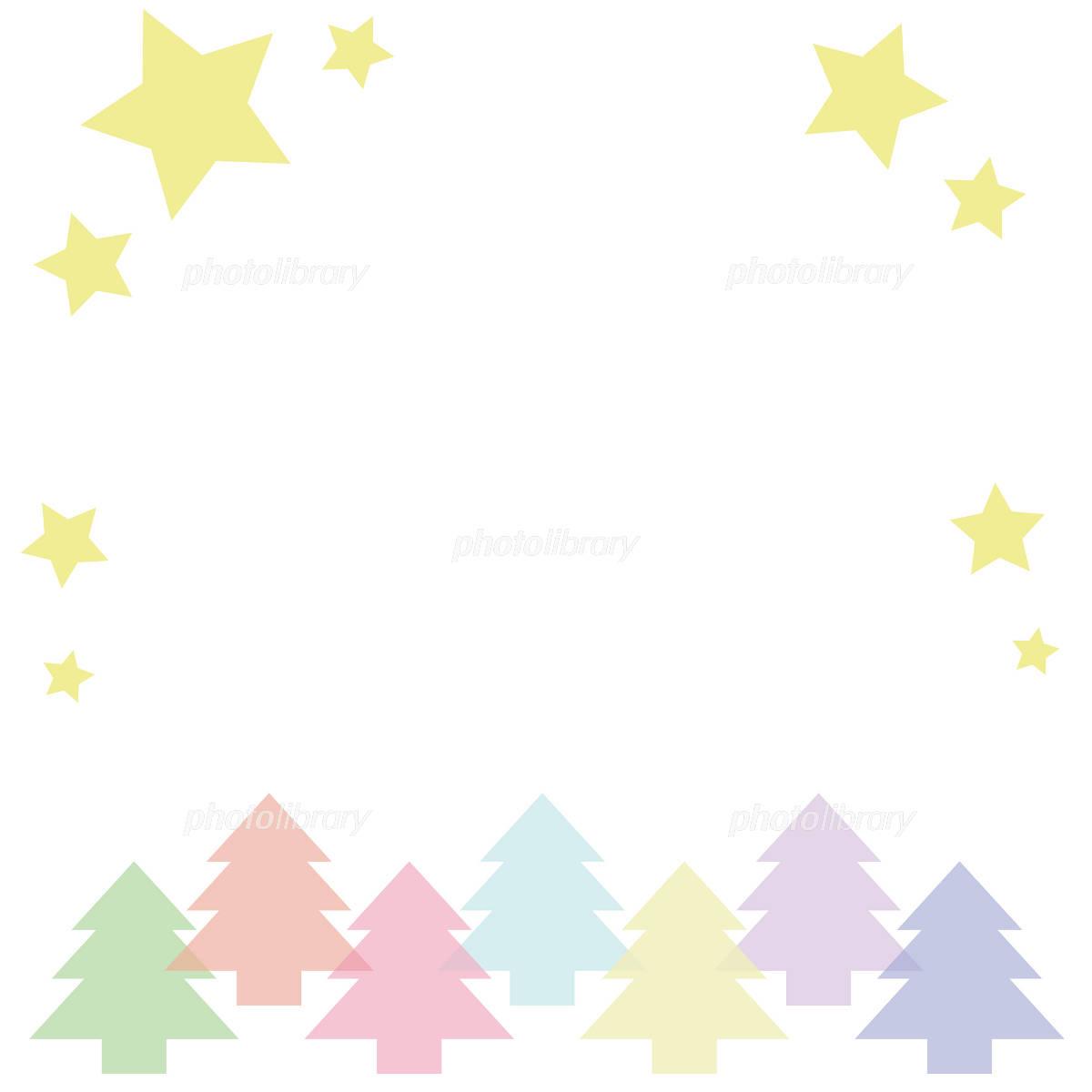 クリスマスフレーム イラスト素材 [ 1052185 ] 無料素材- フォトライブ