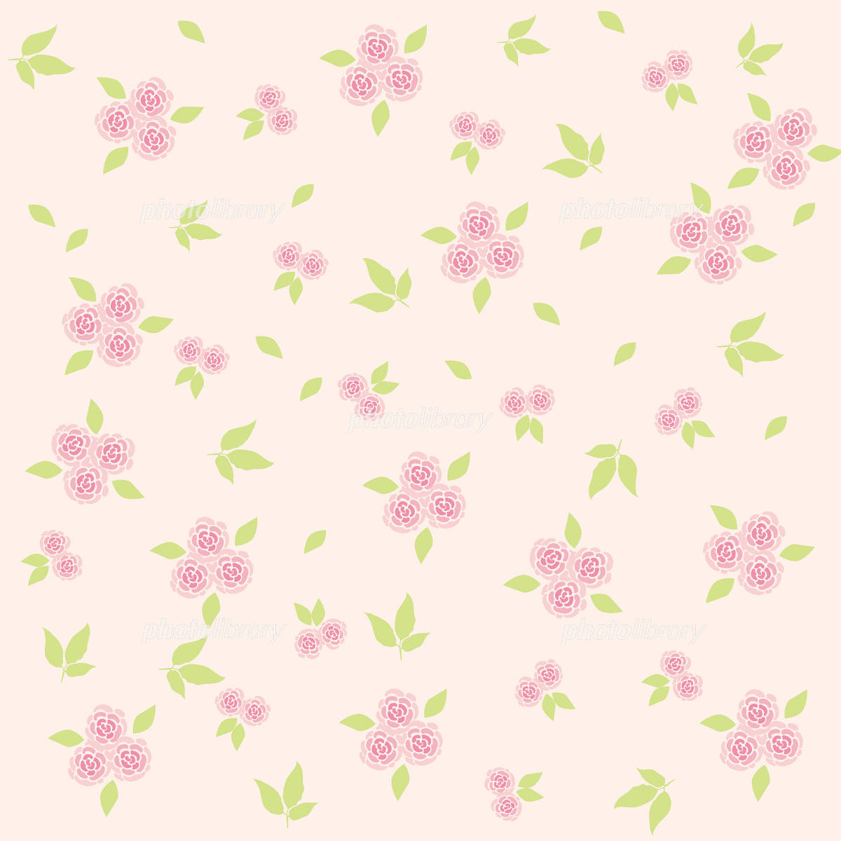花柄背景 イラスト素材 [ 1055052 ] - フォトライブラリー photolibrary