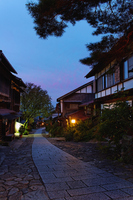 Magome dawn before Stock photo [1042161] Gifu