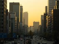 Urban sunset Stock photo [1042860] Nagoya
