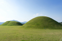 Tombs of Gyeongju Historic ruins district Stock photo [1043930] Korea
