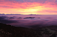 Shibutoge, of sunrise sea of clouds Stock photo [1045273] Shibutoge