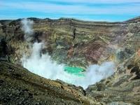 Aso crater Stock photo [1049294] Kyushu