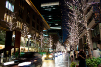 Marunouchi of illumination Stock photo [1056742] Tokyo
