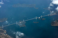Kurushima Strait Bridge Aerial Stock photo [1057834] Ehime
