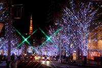 Roppongi Hills Christmas illuminations Stock photo [1149502] Illumination